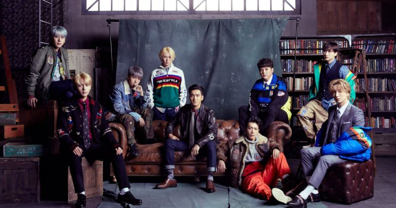 Super Junior 人氣火熱 新日專奪 Oricon 冠軍!