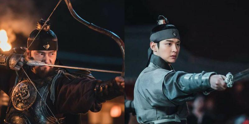 《朝鲜驱魔师》甘宇成、张东润扮演王与王子再现动作戏,将斩除恶灵为朝鲜拚命