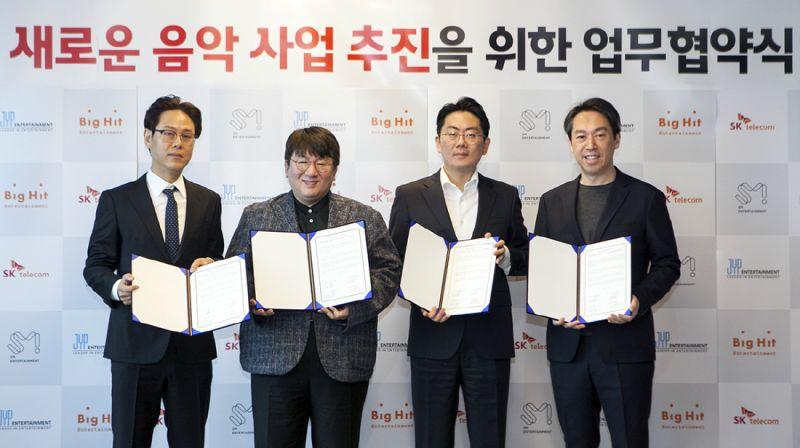 三巨頭 SM、Big Hit、JYP 攜手合作 韓國音樂產業將產生什麼變動?