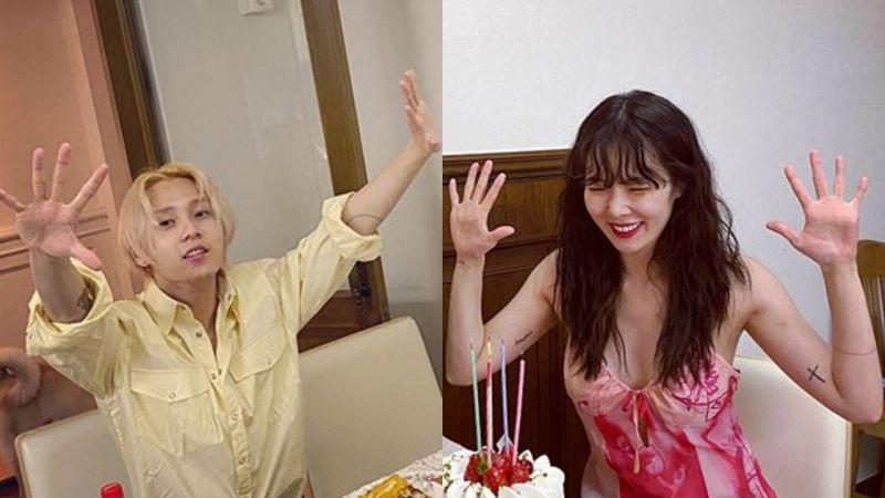 泫雅❤Dawn慶祝交往滿四週年紀念日,甜蜜如初的Lovestagram