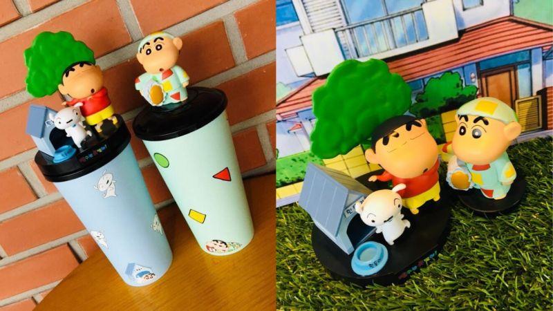 韓國CGV推出蠟筆小新立體造型杯!跳舞的小新、穿睡衣的小新都超可愛啊!