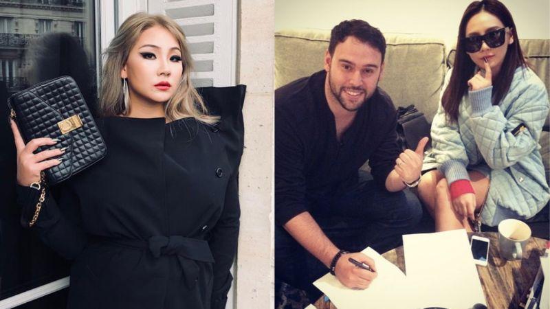 CL美国公司的经纪人亲自回覆粉丝私讯:「我喜爱这个女孩,但我能做的就这么多了」