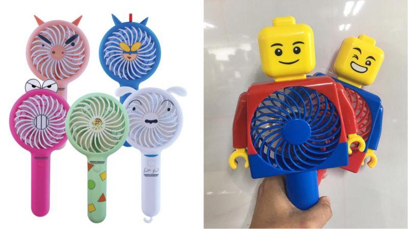 夏日必备的手拿风扇!韩国推出了蜡笔小新、乐高积木、Kakao Friends等超可爱款式!