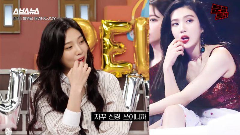 Red Velvet Joy 传奇饭拍图冲击性的幕后故事!Joy:「那时矫正器掉下来,真的太痛了」