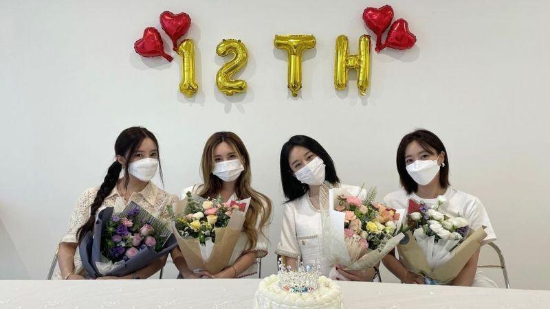 T-ara时隔四年回归!昨日直播庆祝出道12年,宣布「初雪之前发行新歌」