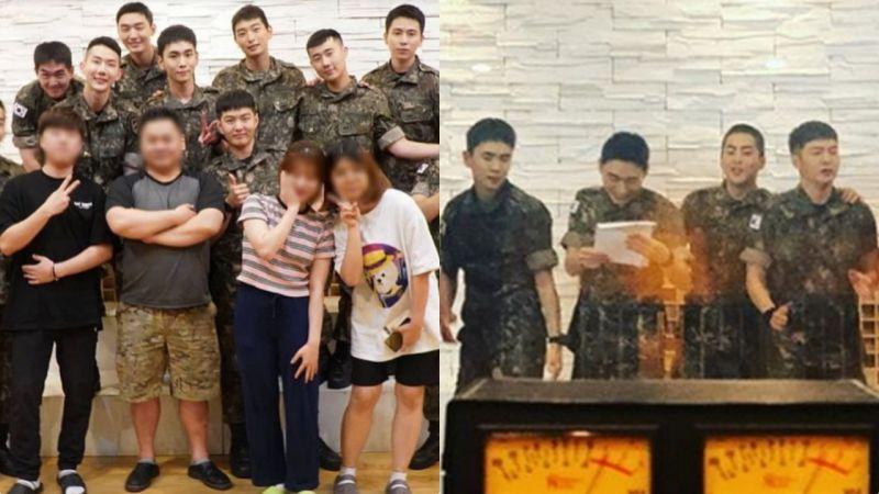國防部娛樂公司又開始營業了:XIUMIN、Key、尹智聖、聖圭等人同框!
