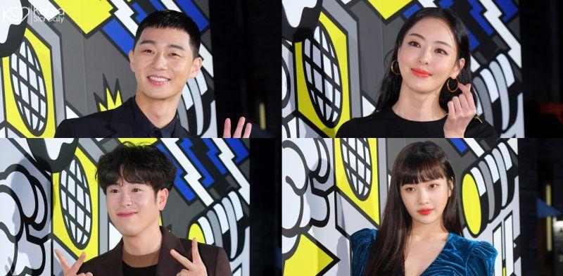 朴叙俊、P.O、李多熙等人出席时尚品牌开业典礼:Red Velvet Joy深V蓝裙惊艳全场!