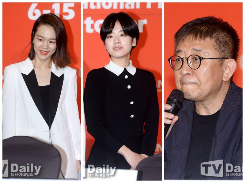 韓藝里&李珠英&導演張律出席《春夢》記者會