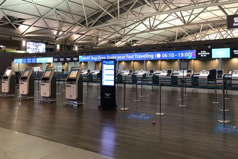 好消息!韩亚航空现在开始可以自动托运行李