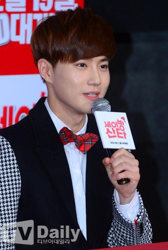 EXO SUHO曝與A pink鄭恩地合唱《Saving Santa》OST很開心