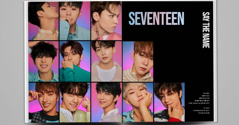 SEVENTEEN 跃上《Billboard Korea 》双封面 韩、英双语版本