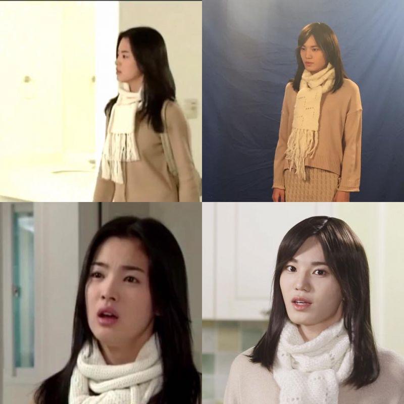 「太像啦~」《SNL Korea 8》INFINITE成鐘扮《藍色生死戀》宋慧喬