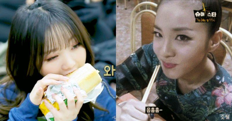 「心疼~」女爱豆大口秀吃播,食物却不见减少?!