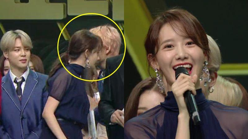 《MBC歌谣大祭典》BTS防弹少年团JIMIN & V告诉少时润娥:SEVENTEEN Joshua也是95line「猪仔」