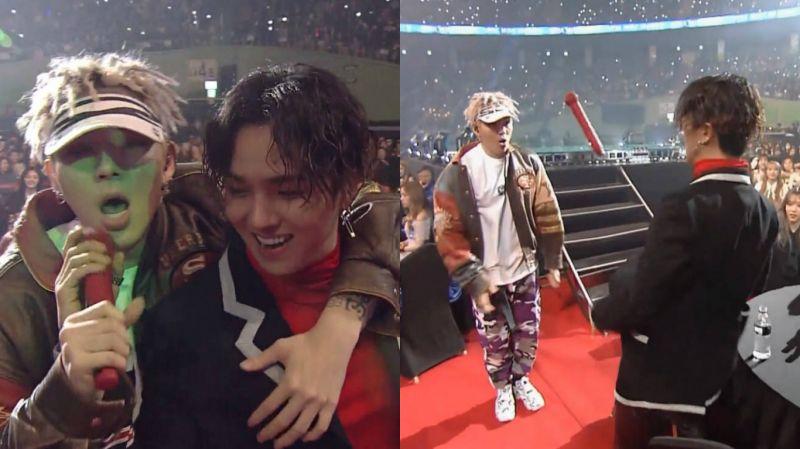 这段超有爱的啊!Zico与宋旻浩《首尔歌谣大赏》展现神默契!