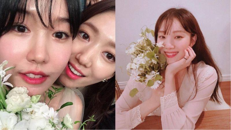 最紅婚禮♥ 潤娥、Dara、Davichi等人到場獻上祝福,朴信惠、李聖經搶捧花!
