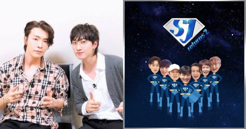 《SJ Returns 2》首波預告由 D&E 率先登場 光是坐著受訪都好笑!