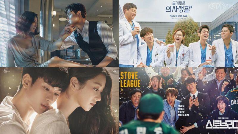 业界选出2020年11部「年度优秀韩剧」《夫妻的世界》&《机智医生生活》夺下冠亚军!