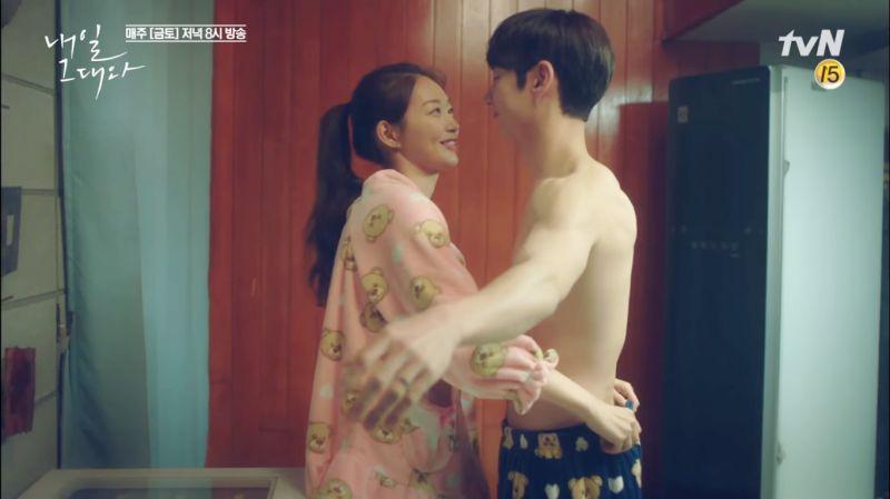 tvN《明天和你》定律:李帝勳&申敏兒兩人越甜蜜劇情就越虐~!
