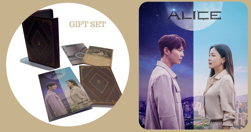 送!韓劇《Alice》記念禮品組合:OST + 筆記本 + 歌詞集