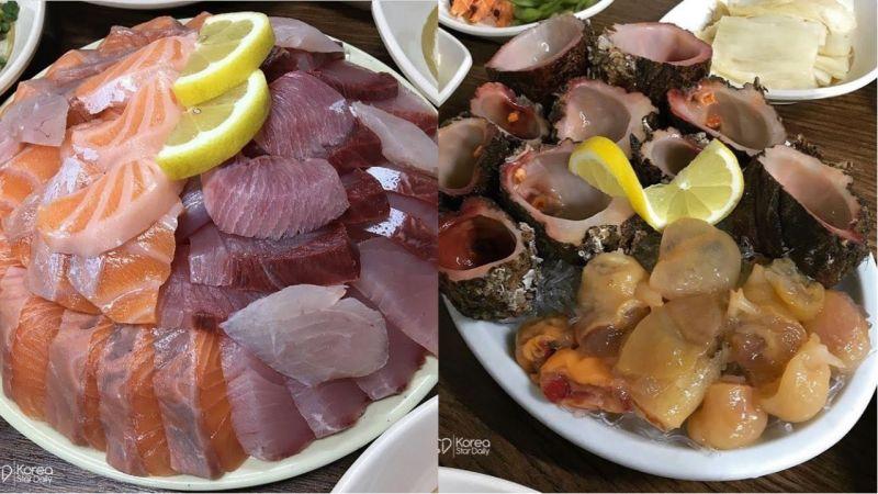 深不见底的生鱼片飨宴!难以忘怀的海的味道!