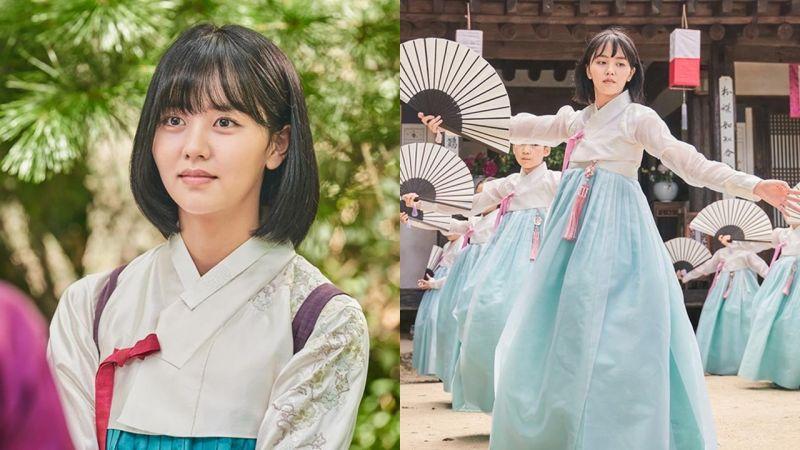 《朝鮮浪漫喜劇–綠豆傳》金所炫人物劇照公開,短髮好適合她啊~!