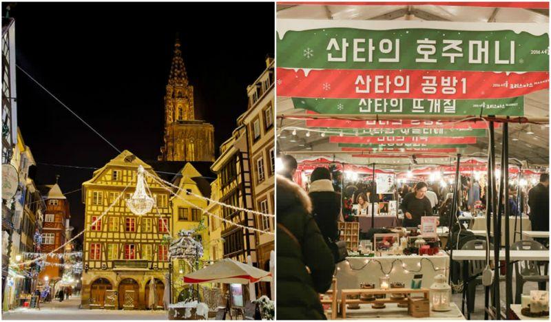 【汉江必玩】2017年末限定:汝矣岛汉江公园圣诞市集~一起来体验充满欧洲风情的圣诞节吧!
