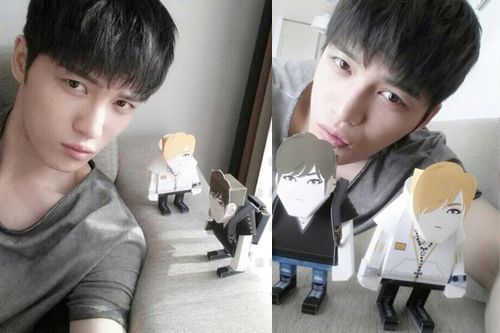 金在中Paper Toy(紙質娃娃) 韓星網正版優惠$HK225/$NT872 發售!