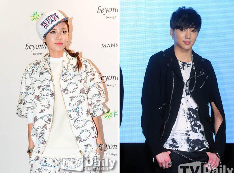 2NE1 Sandara與WINNER姜勝允主演網劇《我們分手了》扮情侶