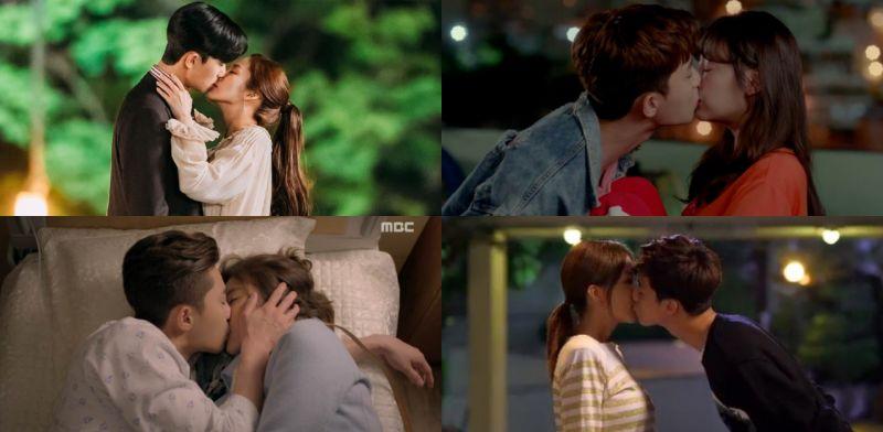 「有kiss匠人稱號的他不是浪得虛名!」有一種演技叫kiss:朴敘俊吻得一手好戲啊~