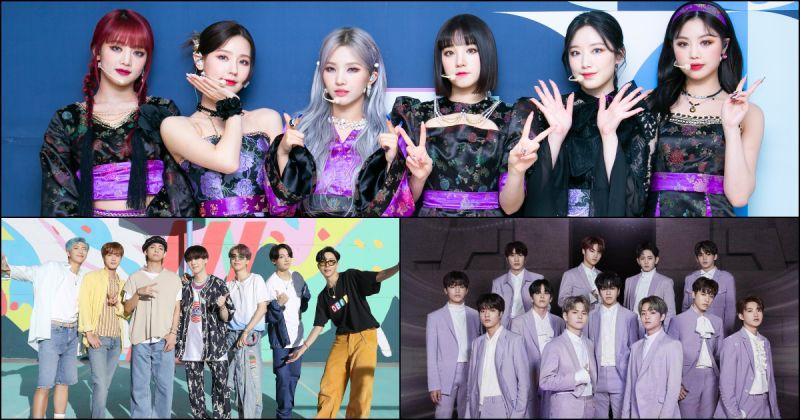 (G)I-DLE「火花」征服 K-Pop Radar MV 週榜!防彈少年團、TREASURE 獲二、三名