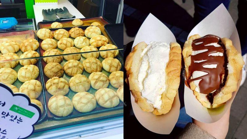 弘大又多了打卡新地! 擦下口水,世界第2好味雪糕蜜瓜面包来了
