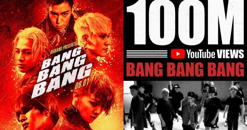 BIGBANG 久违的团体消息!〈BANG BANG BANG〉舞蹈练习片破亿