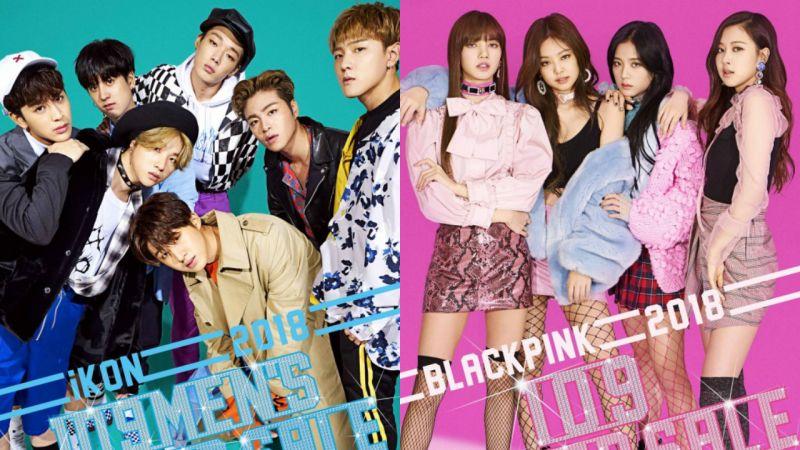 霸氣!iKON、BLACKPINK 擔任專屬模特兒 超大型廣告躍上日本 109 大樓