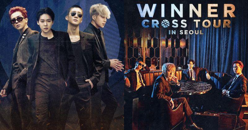 WINNER 送上惊喜 月底发行《CROSS》演唱会实况 DVD+CD!