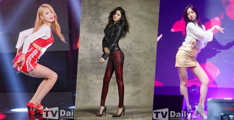 火辣~雪炫vs娜恩vs景麗:最讚的Apple Hip是?