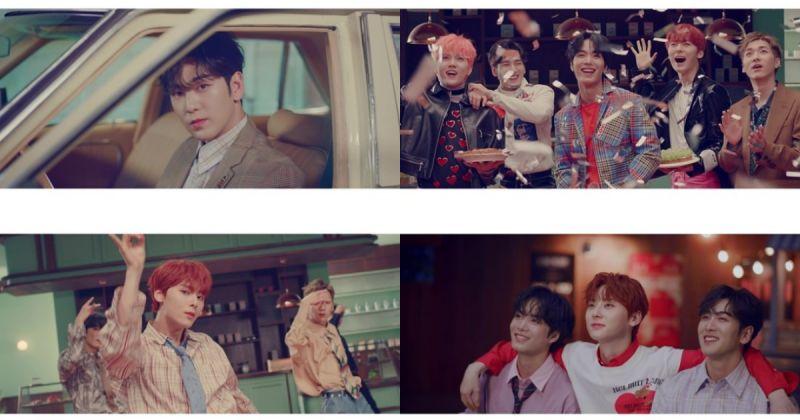 唱出热恋中的甜蜜色彩 NU'EST 主打歌 MV 公开!