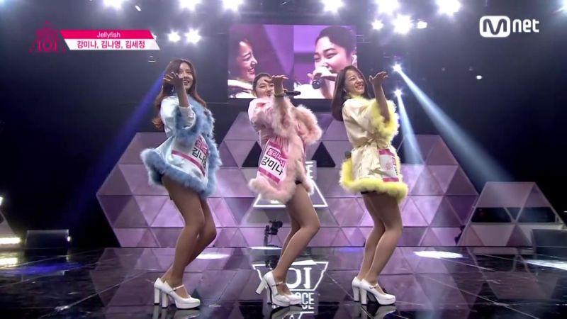 當年一起參加101的gugudan世正、美娜、娜英組成小分隊!