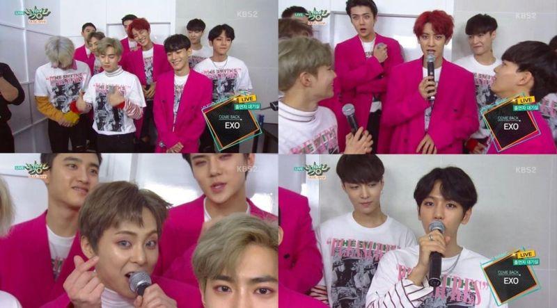EXO携新歌《Monster》回归 赞KAI最像怪物