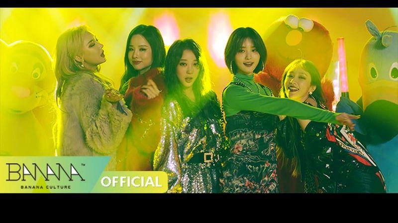 EXID新歌《I LOVE YOU》五人完整體MV公開,這一次是性感宿醉嘔吐風?