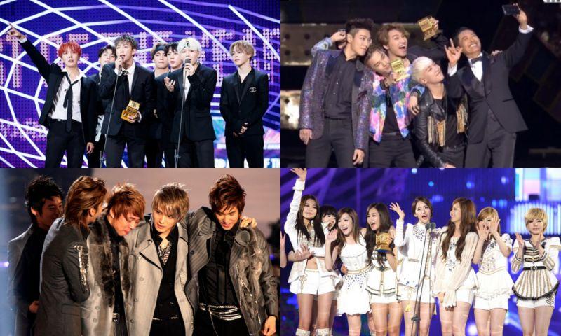 2006—2018年的MAMA年度歌手大匯總:已經蟬聯3連冠的他們今年會再度獲獎嗎?