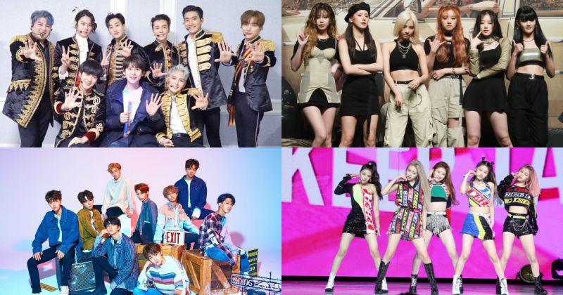 从 Super Junior 到 ITZY 《2019 K-WORLD FESTA》闭幕阵容华丽!
