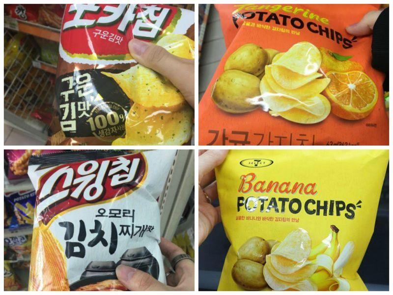 便利店新「味霸」薯片刷新你的味覺
