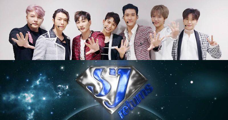 準備好你的腹肌!Super Junior 團綜《SJ returns 2》要登場啦