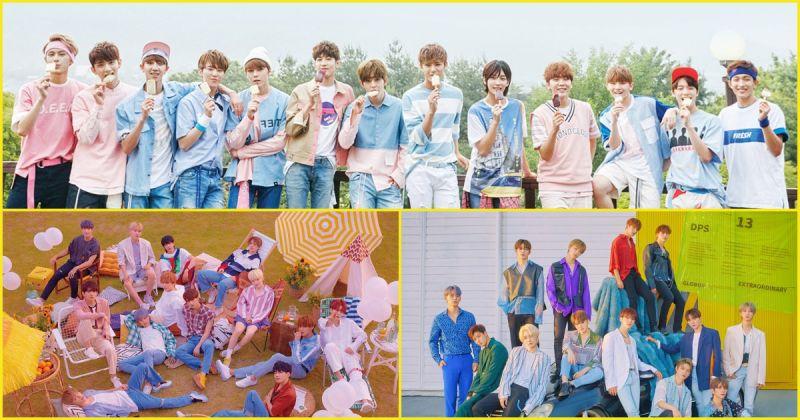 【特辑】SEVENTEEN 回归在即 历年夏日代表歌大回顾!