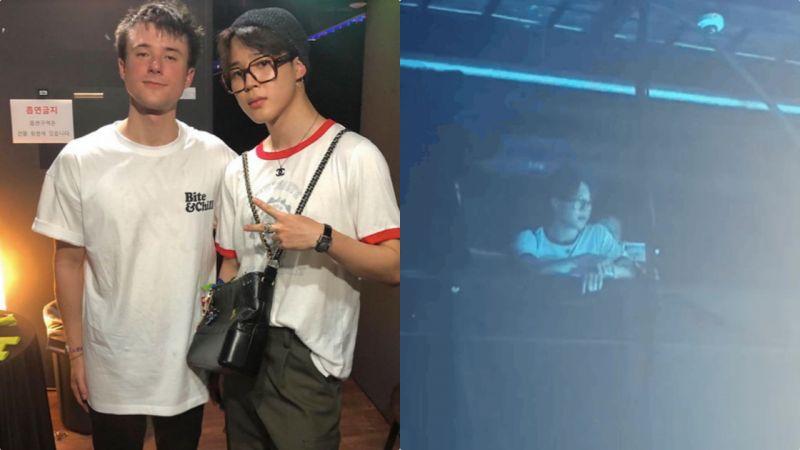 BTS防彈少年團JIMIN休假約好友看演唱會,名牌女包是亮點