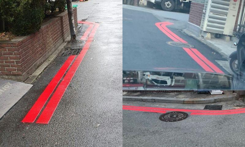 【旅遊資訊】在韓國,紅色車線千萬不要停車! 罰款雙倍&車輛受損無賠償