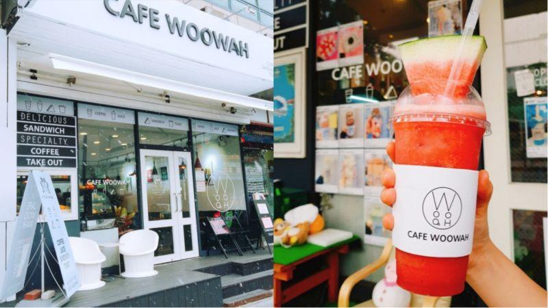 高溫韓國持續!人手來一杯「真.西瓜冰」