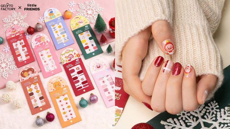 Kakao Friends推出联名新款指甲贴!每一款简直不要太可爱~