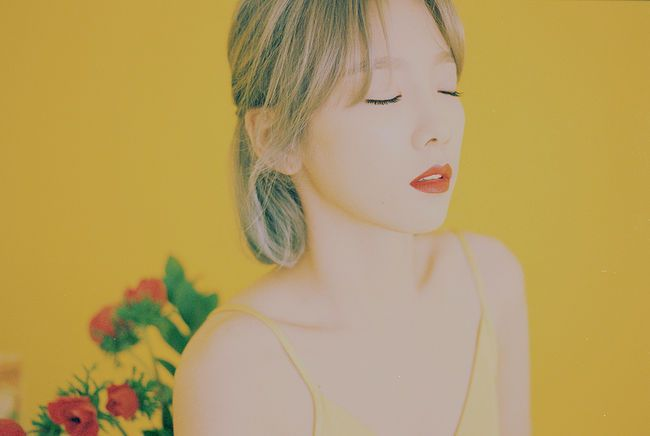音源女王太妍首張SOLO正規專輯預告照公開 28日正式發行